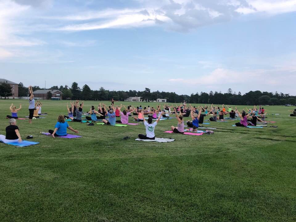 Outdoor Yoga at Rogers Field