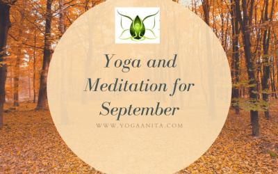 Yoga and Meditation for September